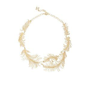 Gorgeous Gold-Collar Designer Necklace